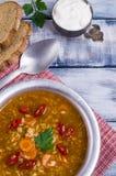 Традиционный пряный суп с рисом Стоковая Фотография RF
