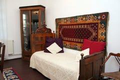 Традиционный румынский интерьер дома стоковое фото