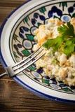 Традиционный русский vegetable салат Стоковая Фотография RF