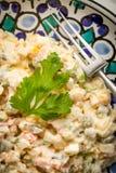 Традиционный русский vegetable салат Стоковое Изображение RF