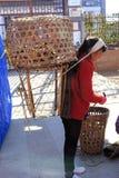 Традиционный рынок в Shaxi Китае Стоковые Фотографии RF