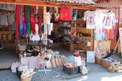 Традиционный рынок в Vatra Dornei, регионе Bucovina Румыния стоковое изображение