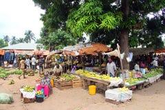 Традиционный рынок плодоовощей Стоковая Фотография