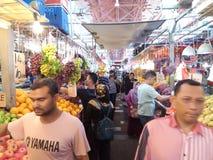 Традиционный рынок плодоовощ стоковая фотография rf