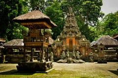 Традиционный старый священный висок в Ubud Бали Индонезии стоковое фото rf