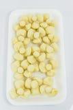 Традиционный тайский десерт вызвал Kleep Lum duan на белом пакете пены. Стоковое Изображение RF