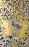 Традиционный тайский стиль изображения на стене, виска Таиланда львов стоковое изображение rf