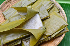 Традиционный тайский торт банана Стоковое Изображение RF