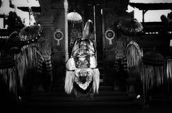 Традиционный танец Barong, Бали, Индонезия стоковое фото
