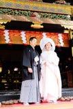 Традиционный японец свадьбы Стоковые Изображения