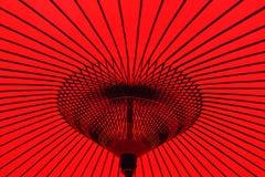 Традиционный японский зонтик для украшений Стоковое Изображение