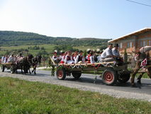 Традиция в Harghita County стоковое фото