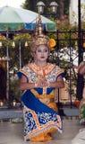 традиция девушки танцы costume Стоковое фото RF