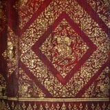 традиция краски золота искусства тайская Стоковые Фото