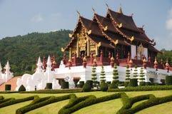 традиция северного типа зодчества тайская Стоковое Фото