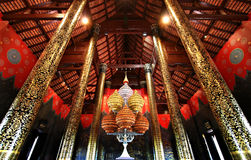 традиция северного типа luang kham ho тайская стоковое фото rf