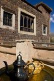 традиция чая Марокко Стоковая Фотография
