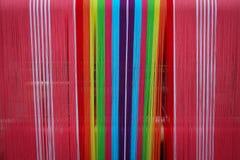 Традиция Weave для ткани Стоковые Изображения RF