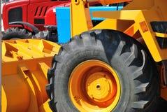 тракторы выставки земледелия новые Стоковое фото RF