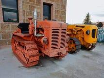 Тракторы Фиат и Lamborghini Стоковое Фото