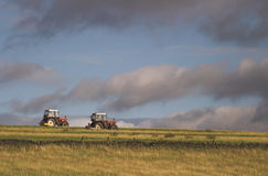 тракторы Стоковые Фотографии RF