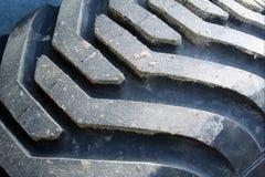 трактор автошины грязи Стоковое Фото
