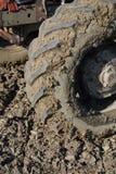 трактор автошины стоковые фотографии rf