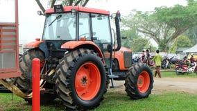 Трактор земледелия от заднего взгляда Стоковое фото RF