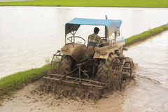 трактор земледелия Стоковое Фото