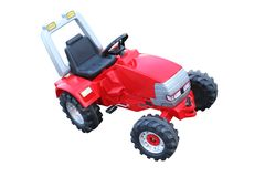 трактор игрушки Стоковое фото RF