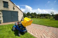 трактор игрушки стоковые фотографии rf