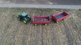Трактор и трейлеры Стоковое фото RF