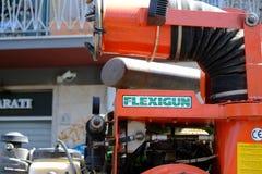 Трактор корабля Flexigun Стоковые Фото