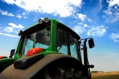 трактор оборудования земледелия самомоднейший Стоковая Фотография