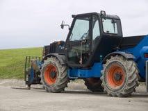 трактор паллета вилки Стоковые Фото