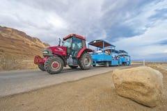 Трактор-поезд Стоковая Фотография RF