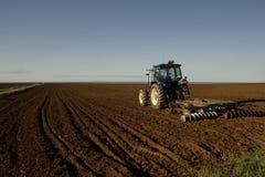 трактор поля Стоковое Фото