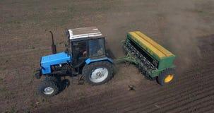трактор поля Стоковые Изображения RF