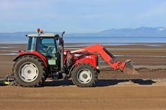 Трактор пляжа Стоковое Фото
