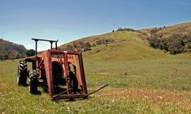 трактор сельской местности Стоковая Фотография RF