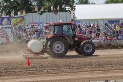 Трактор случая след Стоковые Фотографии RF
