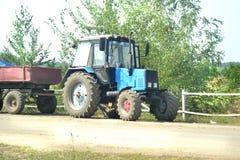 Трактор с трейлером Стоковая Фотография RF
