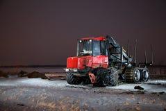 Трактор тимберса Стоковое Фото