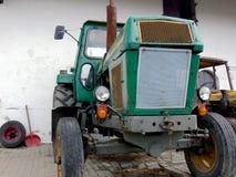 трактор фермы зеленый Стоковое фото RF