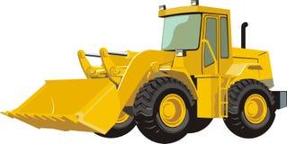 трактор иллюстрация вектора