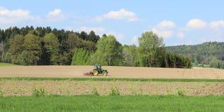 Трактор. стоковые изображения
