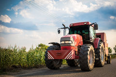 трактор Стоковая Фотография