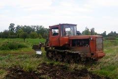 Трактор Crawler Стоковое фото RF