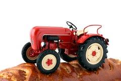 трактор plowman Стоковые Изображения