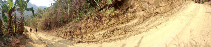 Тракт холма Читтагонга Стоковые Изображения